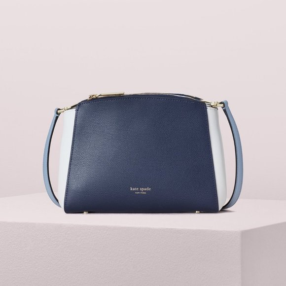 Kate Spade Sydney Double-Zip Crossbody Bag